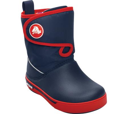 Crocs Crocband ll.5 Gust Boot kids navy/red gyerek csizma